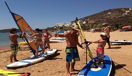 Surfing in Kypri Andros